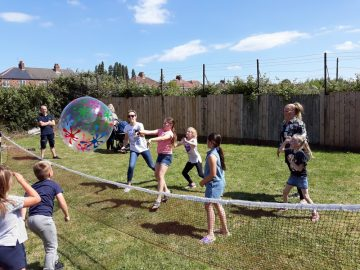 Messy Church - volleyball